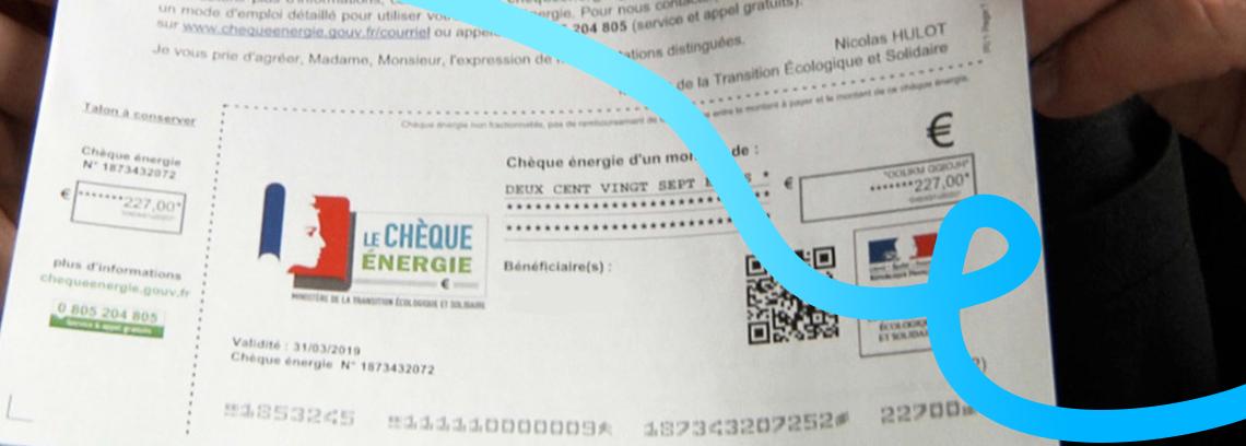 Exemple de cheque energie