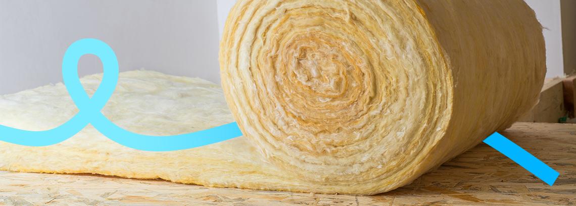 Rouleau de laine de verre